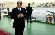 السيسي من قناة السويس: المساس بمياه مصر خط أحمر