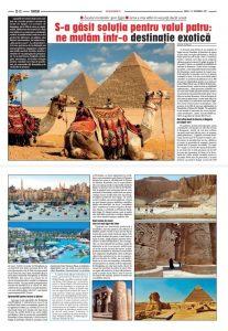 وسائل الإعلام الرومانية تفرد تحقيقا مطولا عن السياحة في مصر وابراز المقومات السياحية الفريدة لمدينة شرم الشيخ
