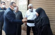 الدكتور ممدوح غراب يقدم واجب العزاء في وفاة زوج مديرة إدارة التخطيط العمراني بالديوان العام