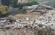 إزالة 6 حالات تعدى على أملاك الدولة بفارسكور بمحافظة دمياط