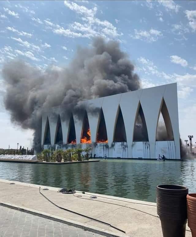 بعد السيطرة على حريق الجونة إدارة المهرجان تفتح تحقيقاً و تعرف الحقيقة.. تفاصيل